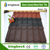 Colorful stone al-zn coated metal roof tile corrugated aluminum zinc roofing sheets