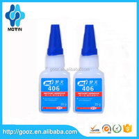 Quality same as LOCTIT 406 clear prism Instant Adhesives for Plastic & Rubber