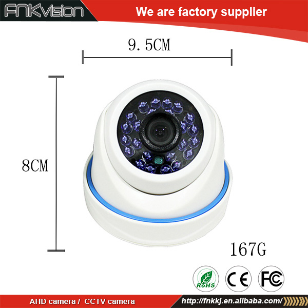 AHD Infrared waterproof Monitor / Surveillance Security Housing Plastic CCTV Camera
