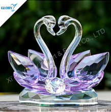 High Quality Most Popular Wedding Gift 2015 Crystal Swan