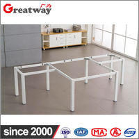 steel office furniture leg computer office executive table design