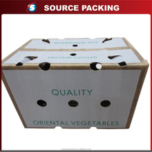 Wax Coated Paper Corrugated Fruit Food Box