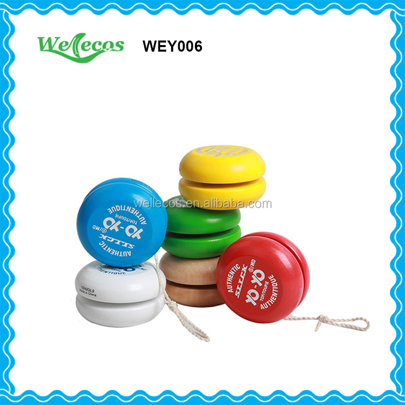 Professional Wooden Children toy Yoyo Good Quality Cheap Price Customize Yoyo for Wholesale