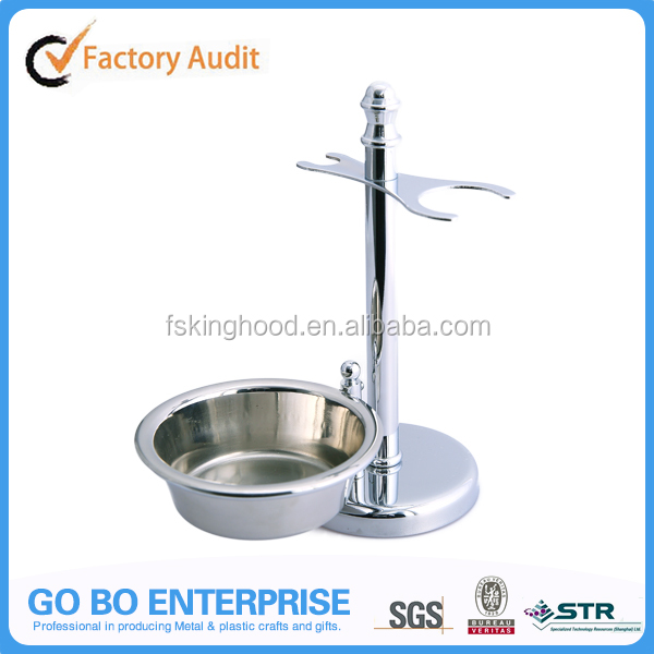 Manufacture Chrome Shaving Stand with Bowl