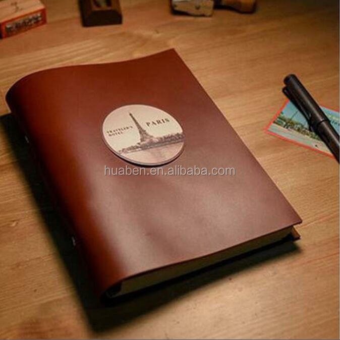 A5 customized handmade genuine leather journal