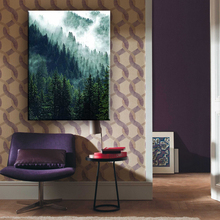 Beautiful forest easy landscape home goods wall art canvas painting