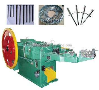 High Speed Low Noise Automatic Wire Nail Making Machine for Nail Production