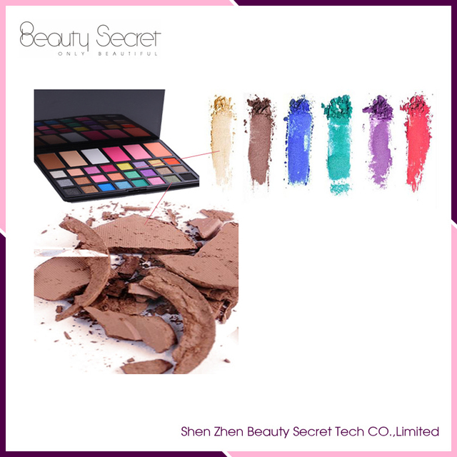 high quality cosmetic makeup 30 color eyeshadow all shimmer with cheap price