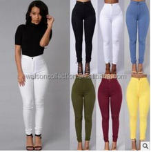 2017 Fashion Lady Women Casual Pencil Stretch Pant Fit Skinny Jeans Jegging Trousers