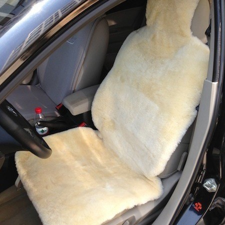 Size 145*55cm 100% New Zealand Sheepskin Car Seat Cover
