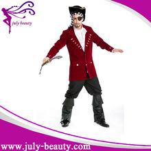 One eye medieval man pirate dance costumes for stage show