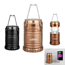 Suzhou Wholesale Outdoor Camping Handle Lantern Portable LED Solar Camping Light
