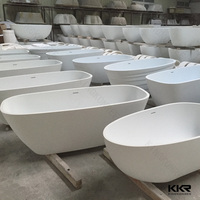 KKR gel coat freestanding bathtub , heart shaped bathtub