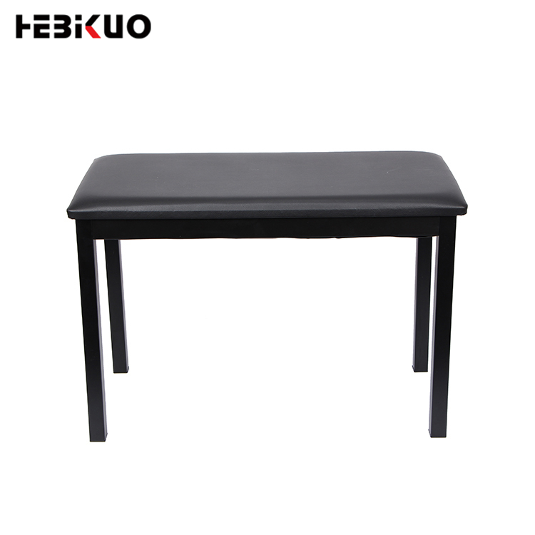 <strong>Q</strong>-<strong>112</strong> HEBIKUO High quality black digital piano double stool chair