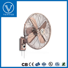 16 Inch Decorative Metal Electric Wall Fan
