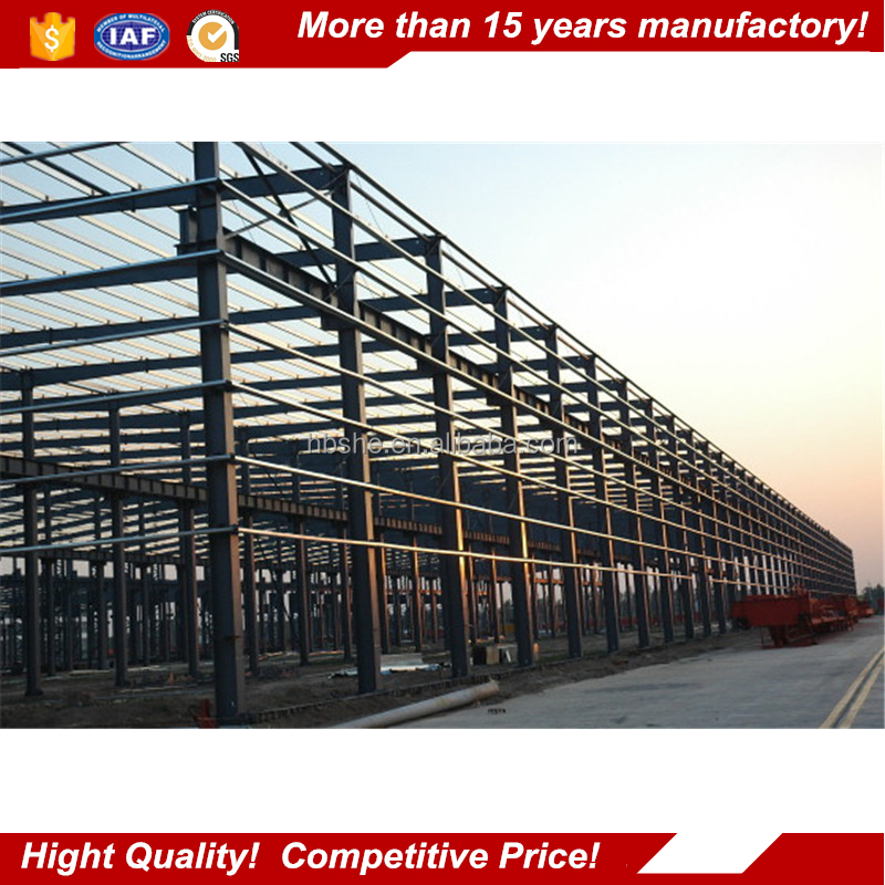 prefabricated warehouse building / prefabricated steel warehouse