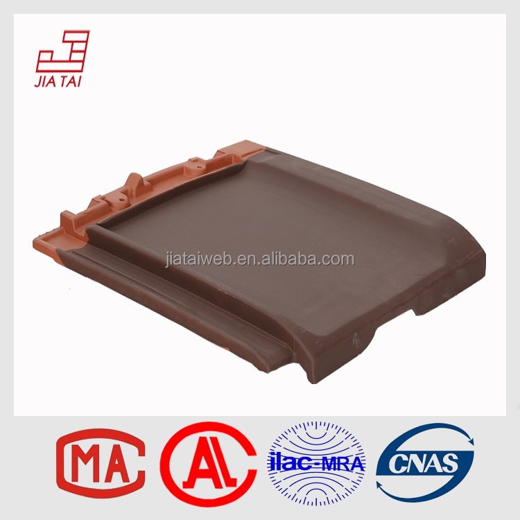 FT-5C30 natural material building shock-proof hasp clay roof tile