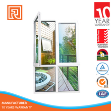 China Export Aluminum French Casement Window Comply With Australia Standard