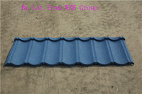clay tile colorful stone coated roof tile
