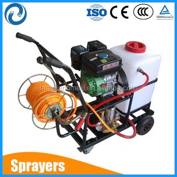 3KW Top quality agricultural petrol engine power sprayer by hand pump