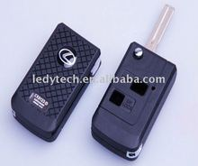 New style Lexus modified remote flip key shell with 2 buttons
