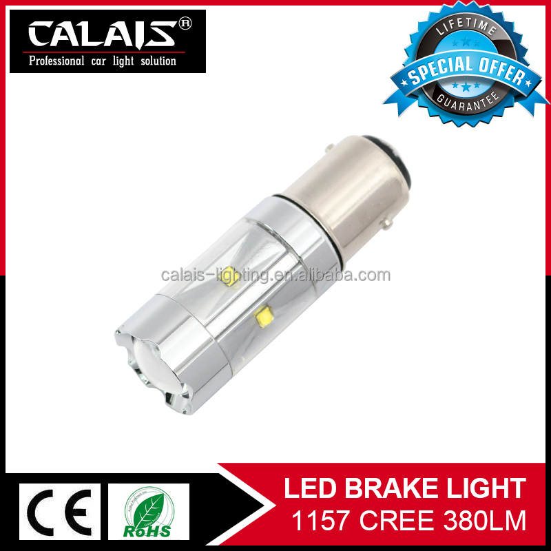 Auto Tail Lamp 1157 car brake light bulb canbus 1157 bay15d s25 stop light turn signal lamp bulb white