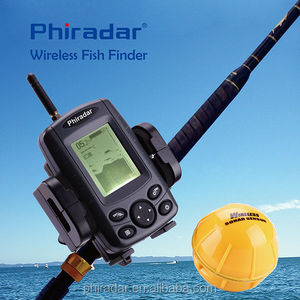 sonar fishfinder wireless portable out door fishing devie Hot sell Fish Finder with wireless sonar sensor black color