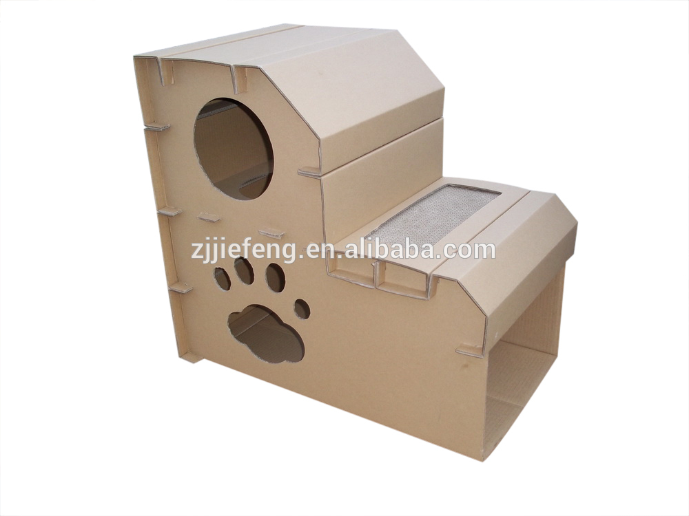 indoor cat house MDF cardboard manufacturer cat endless ideas