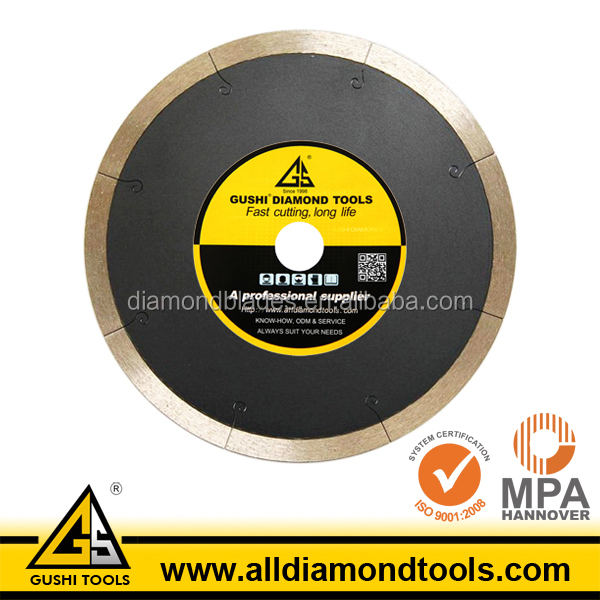 Wet Cutting Sintered 8 Inch Diamond Tile Saw Blade