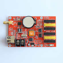 Hot selling wifi mobile phone APP LED screen controller HD-W62 triangular module control card