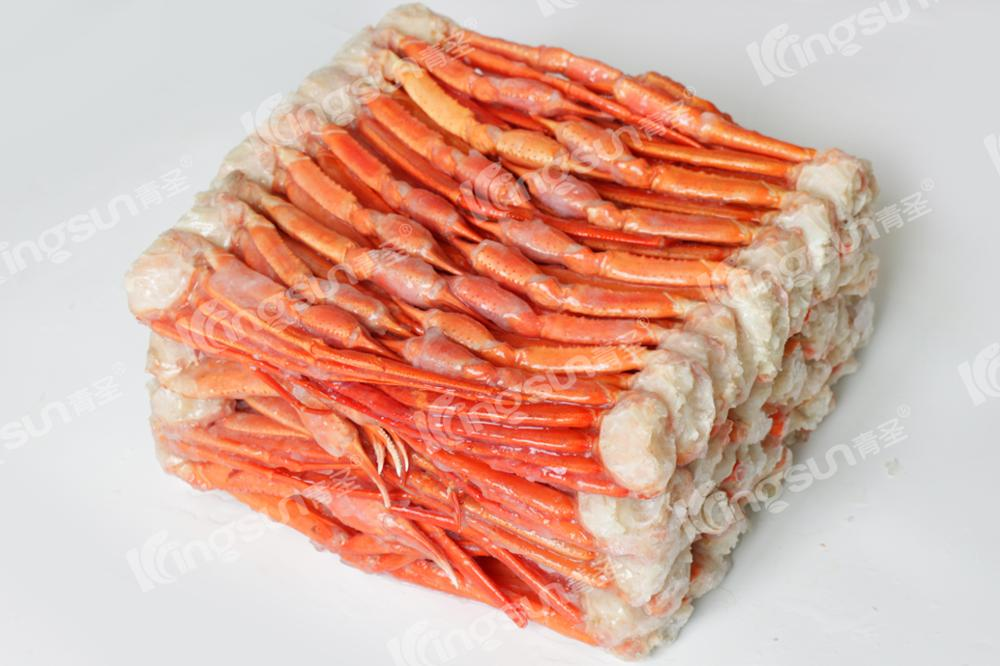 2017 NEW ARRIVAL CATCH 100% N.W. BQF Chemical Free Frozen Red Snow Swimming Crab Cluster Claw Pincers wholesale in Good Price