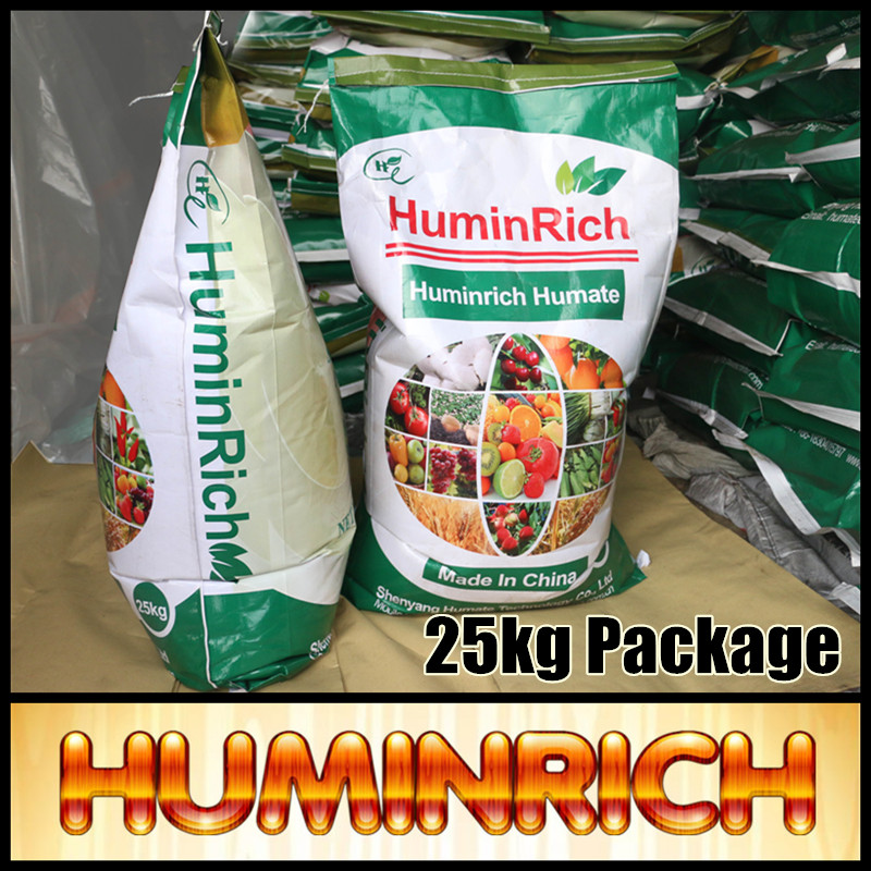 Huminrich Potassium Humate 100% Soluble Irrigation Grow More Humic Fertilizer