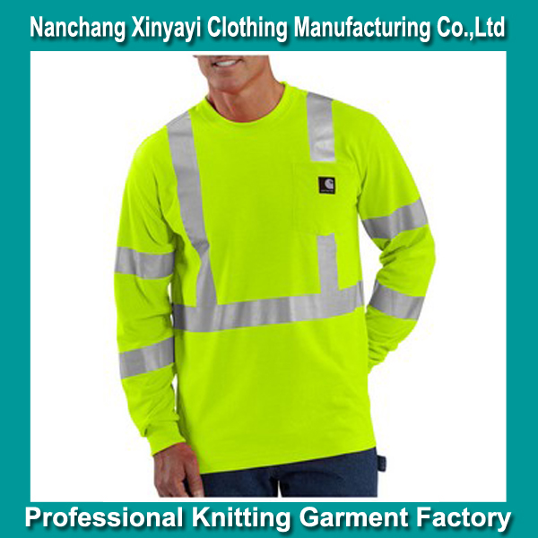 High Visibility Long Sleeve Polo T Shirts Wholesale High Visibility Cotton Safety Shirt Online Shopping for Wholesale Clothing