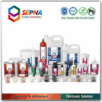 White One-part RVT Silicone General Purpose Electronic Adhesive Sealant for Electronic Components