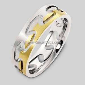 Chinese Stainless Steel Interlocking Puzzle Ring