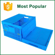 Square Professional Collapsible Storage Mesh Crate For Seafood