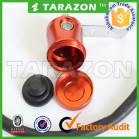 Wholesale aluminum alloy cnc motorcycle brake fluid reservoir for bajaj pulsar200ns