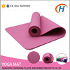 100% tpe yoga mat, thick exercise mat with strap, screen printing yoga mats