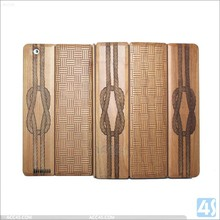 top grade Smart Cover for Ipad 3 real Wood Case