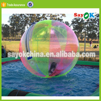 half color bubble inflatable water zorb walking ball pool price rental