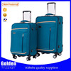 2016 New Designs Soft Lightweight suitcase With High Quality universal wheels trolley travel luggage