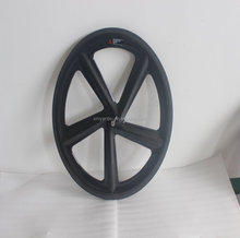 Light Weight Carbon Track wheelset 5 Spokes Wheel For Bicycle