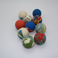 Colorful Custom Toy Rubber Ball
