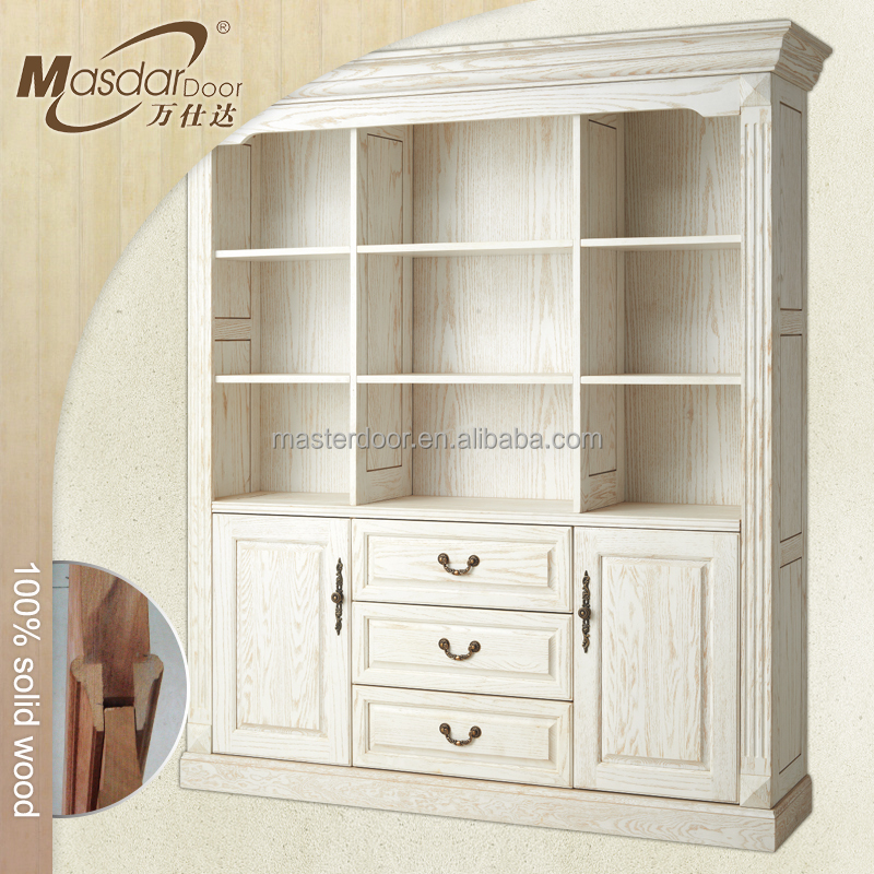 Modern home furniture birch wood bookcases price