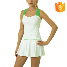 Zhaozi Mujeres <span class=keywords><strong>de</strong></span> Ropa Deportiva <span class=keywords><strong>de</strong></span> Fútbol Blanco Equipo <span class=keywords><strong>de</strong></span> Gimnasia Vestido <span class=keywords><strong>de</strong></span> <span class=keywords><strong>Tenis</strong></span>