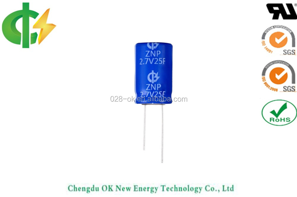 2.7V 20F ultracapacitor,Large Super capacitor 2.7V 400F supercapacitor 2.7V 300F