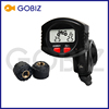 Wireless Tire Pressure and Temperature Monitoring System External Sensors for 2-wheels Motorcycle TPMS