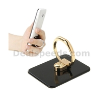 VENICEN Universal Rotatable Encrusted Metal Ring Holder / Car Hanging Ring Holder for iPhone /for iPad Mobile Phone