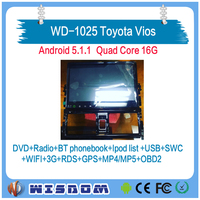 2016 toyota vios car audio player with gps made in china car dvd player builtin car audio player bluetooth wifi bose sound tpms
