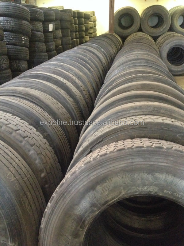Used Commercial Truck Tires 11R22.5 & 11R24.5 BEST QUALITY BEST PRICE !